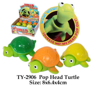 Funny Pop Head Turtle Toy pictures & photos