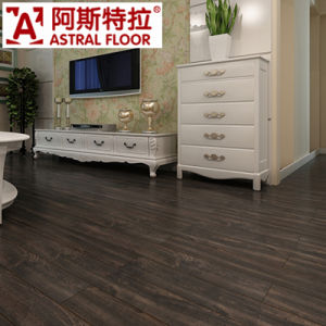 12mm CE Approved with Wax Laminate Flooring pictures & photos