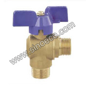 90 Degree Brass Reduced Male Angle Valve pictures & photos