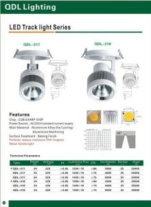 24W COB Sharp Track Light Qdl-318