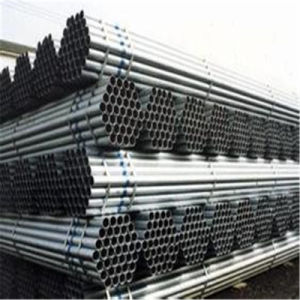 Bs1387 Standard Zinc Coating ERW Welded Round Steel Pipe (Bs1387)