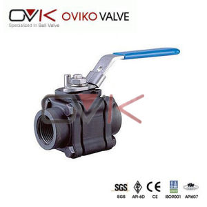 Stainless Steel PC Ball Valve with Lock NPT, BSPP, BSPT