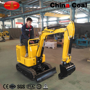 Gh10 Orchard Use Mini Wheel Road Crawler Excavator pictures & photos