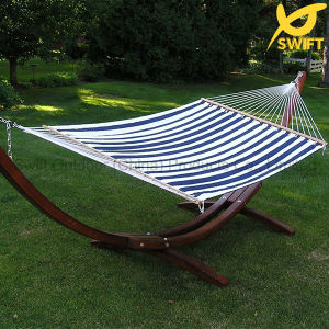 2 Person Hammock with Wood Stand
