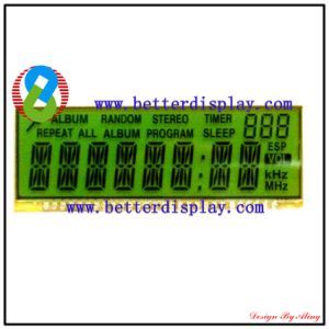 LCM LCD Display Stn Green Negative LCM Customized Module pictures & photos