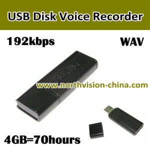 Long Time Working USB Disk Voice Recorder