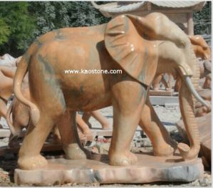 Granite Garden Elephant Statue & Granite Sculpture pictures & photos
