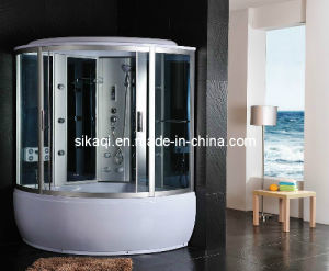 Two Person Steam Shower Room Cabin with Full Functions pictures & photos