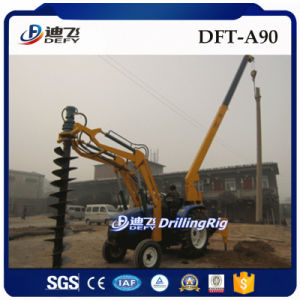 Dft-A90 Tractor Mounted Hydraulic Pile Driver Core Drilling Rig Machine Price pictures & photos