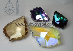 Crystal Chandelier Parts Maple Leaf Shape Drop Pendant pictures & photos