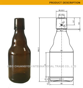 Stubby 330ml Swing Top Glass Bottle for Beer (384) pictures & photos