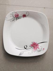 Specific Design Melamine Plastic Dinner Plate pictures & photos