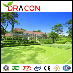 UV Resistant Artificial Lawn Tennis Green (G-2045) pictures & photos