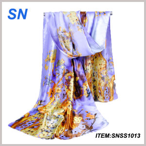 Made in China Supplier Online Shopping Chinese Silk Scarf pictures & photos