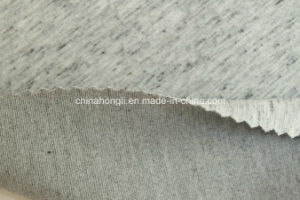Fashion R/P/C/Sp 45/44/4/7, 360GSM, Melange Ponte-Roma Knitting Fabric pictures & photos