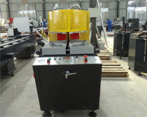 Double UPVC Profile Machine for Welding Doors and Windows pictures & photos