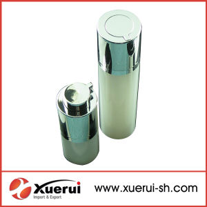 Round Rotary Shape Acrylic Airless Bottle pictures & photos