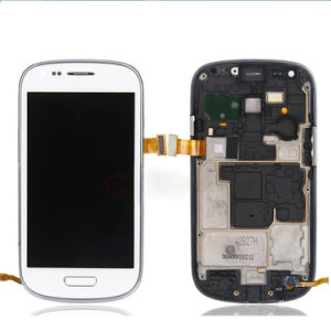 LCD Display Touch Screen Digitizer Frame for Samsung Galaxy S3 Mini I9300 I8190 pictures & photos