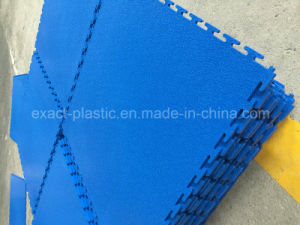 7mm Thick PVC Vinyl Warehouse Workshop Garage Interlocking Floor Tiles Mats pictures & photos