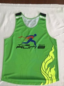 Custom Made for Running Vest with Sublimation Printing