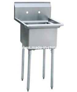 One Compartment Commercial Sink (GRT-HLA18-1-0) pictures & photos