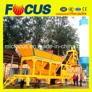 Best Selling Mobile Concrete Batching Plant 25m3/H pictures & photos