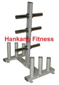 Fitness, gym equipment, fitness machine, Commercial Plate & Bar Rack (HR-010) pictures & photos