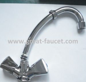 Two Handle Kitchen Sink Mixer pictures & photos