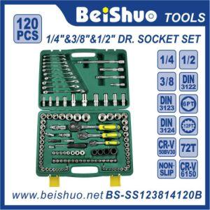 """120PCS 1/2"""" &1/4′′&3/8′′ Drive Socket Set pictures & photos"""