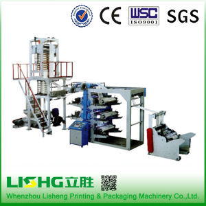 Film Blowing Machine Connect to Flexo Line pictures & photos
