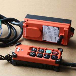 F21-E1b Factory Price Yuding Brand Single Speed Remote Crane Controls pictures & photos
