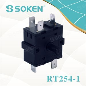 Power Rotary Switch with 6 Position (RT254-1) pictures & photos
