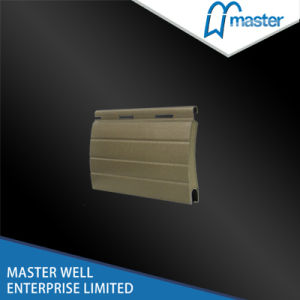 Anti- Scratch Coated Roller Shutter Slat Covering Surface (37MM SERIES) /Roller Shutter Slat/Rolling Shutter Profile pictures & photos