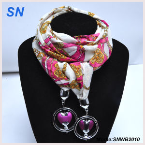 2014 Women Fashion Pendant Jewelry Scarf (SNWB2010) pictures & photos