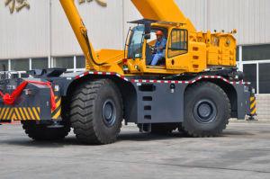 Qtz125 High Quality Rough Terrain Crane