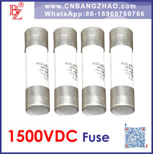 1500VDC PV System High Voltage 1500V 15A Fuse pictures & photos