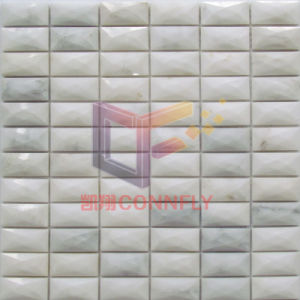 Smoothed 13 Edges Marble Mosaic for Kitchen Splash (CFS1133) pictures & photos