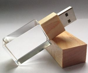 Wooden and Crystal USB Memory Stick pictures & photos