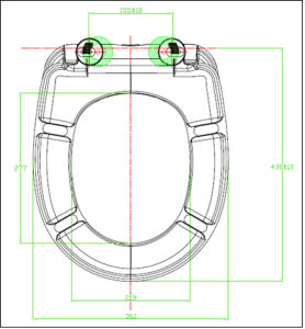 UF Slow Down Round Shape Toilet Seat pictures & photos