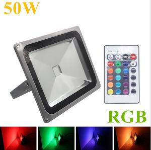 50W IP65 RGB Remote Controller LED Outdoor Floodlight pictures & photos
