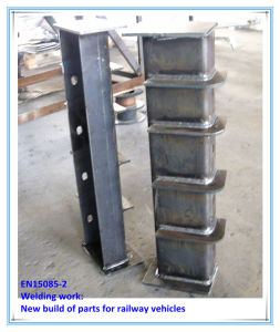 Steel Bracket Metal Fabricated Reeling and Welding pictures & photos