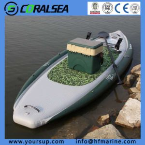 """PVC/PVC Material/EVA/EVA Material/PVC Drop Stitch Sup Board for Sale (Fishing Board 10′0"""") pictures & photos"""