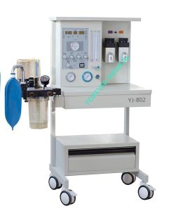 Yj-802 with 2 Vaporizer Multifunctional Anesthesia Machine pictures & photos