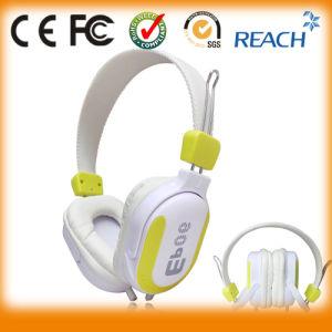 High Quality/Custom Logo Overhead Stereo Headphone pictures & photos