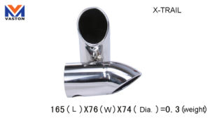 Exhaust/Muffler Pipe for Auto/X-Trail, Made of Stainless Steel 304b pictures & photos