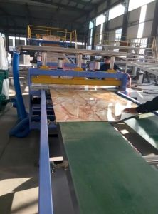 Building Materials UV Marble PVC Sheet/Board Production Line pictures & photos
