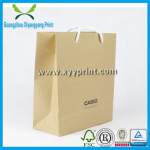 Manufacturers Cheap Wholesale Recycle Craft Brown Paper Kraft Bag pictures & photos