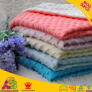 Soft Baby Blanket Various Colors Minky DOT Blankets Minky Blanket
