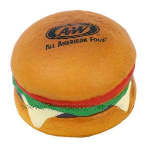Restaurant Promotional Gift PU Hamburger pictures & photos