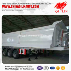 Qilin 50 Tons Payload Tipper Semi Trailer for Bulk Cargo Loading pictures & photos
